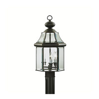 Kichler Lighting Embassy Row 3 Light Outdoor Post Lantern in Olde Bronze 9985OZ photo thumbnail
