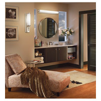 Kichler Lighting Allegre 1 Light Fluorescent Bath Vanity in Satin Nickel 11110SN alternative photo thumbnail
