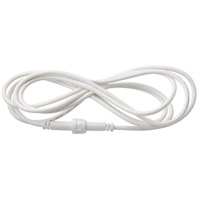 Kichler DLE06WH Independence White Material (Not Painted) Extension Cord