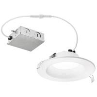 Kichler DLRC06R2790WHT Independence LED 8 inch Textured White Flush Mount Ceiling Light
