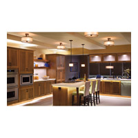 Kichler Lighting Lacey 3 Light Semi-Flush in Mission Bronze 42386MIZ
