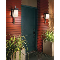 Kichler Lighting Stonebrook 1 Light Medium Outdoor Wall Lantern in Architectural Bronze 49258AZ alternative photo thumbnail