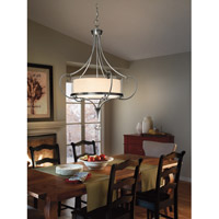 Kichler 42864CLP Lara 3 Light 24 inch Classic Pewter Inverted Pendant Ceiling Light alternative photo thumbnail