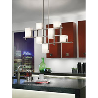 Kichler Lighting City Lights 7 Light Chandelier in Classic Pewter 42941CLP alternative photo thumbnail