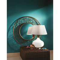 Kichler Lighting Westwood Dagmar 1 Light Table Lamp in White 70853 alternative photo thumbnail