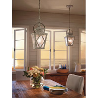Kichler 43258DAW Hayman Bay 2 Light 9 inch Distressed Antique White Pendant Ceiling Light Kichler_HaymanBay_43258DAW_DiningRoom.jpg thumb