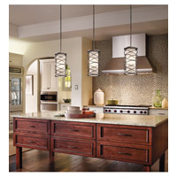 Kichler 42467WMZ Krasi 1 Light 6 inch Warm Bronze Pendalette Ceiling Light alternative photo thumbnail