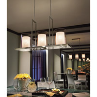 Kichler 42548CLP Triad 6 Light 12 inch Classic Pewter Chandelier Ceiling Light alternative photo thumbnail