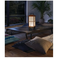 Kichler 49247BWFLED Davis 19 X 8 inch Bamboo Wood Outdoor Portable Lantern, Bluetooth alternative photo thumbnail