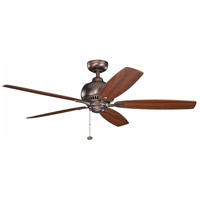 Kichler S390010OBB Richland 52 inch Oil Brushed Bronze with Cherry Blades Ceiling Fan