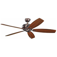 Whitmore 60 inch Oil Brushed Bronze with Cherry Blades Ceiling Fan