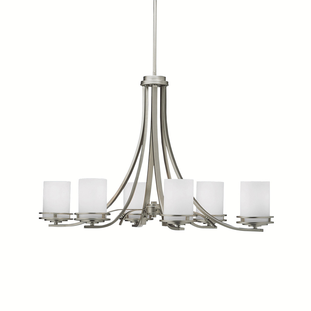 Lighting Warehouse Hendrik Potgieter: Kichler Lighting 1673NI Hendrik Chandelier Brushed Nickel