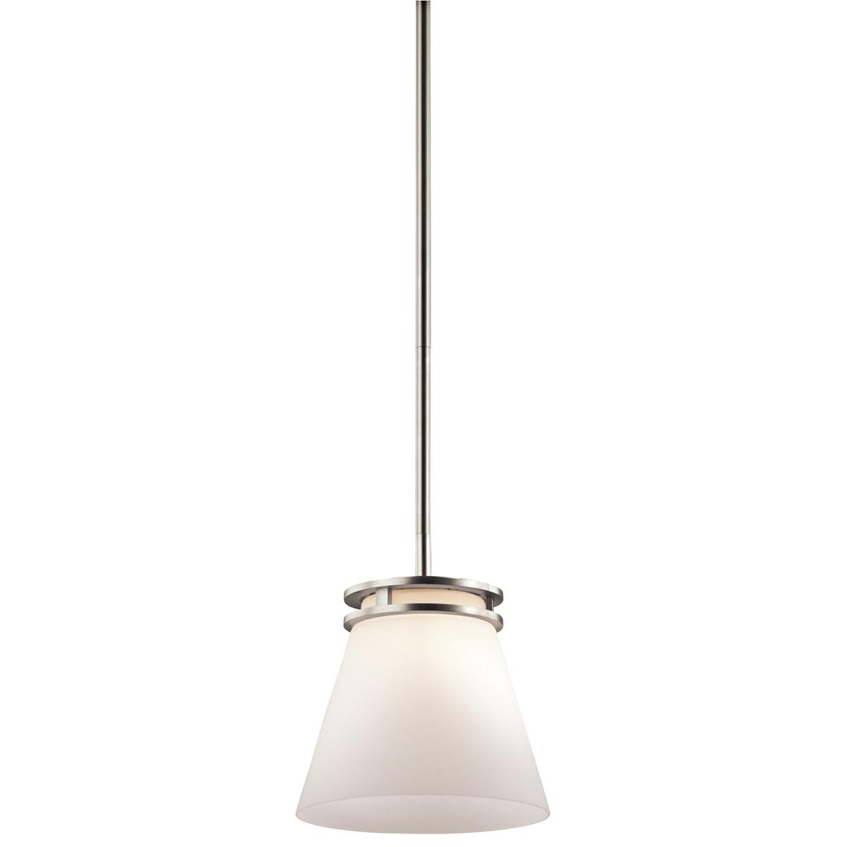 Lighting Warehouse Hendrik Potgieter: Kichler Lighting 1687NI Hendrik Pendant Brushed Nickel