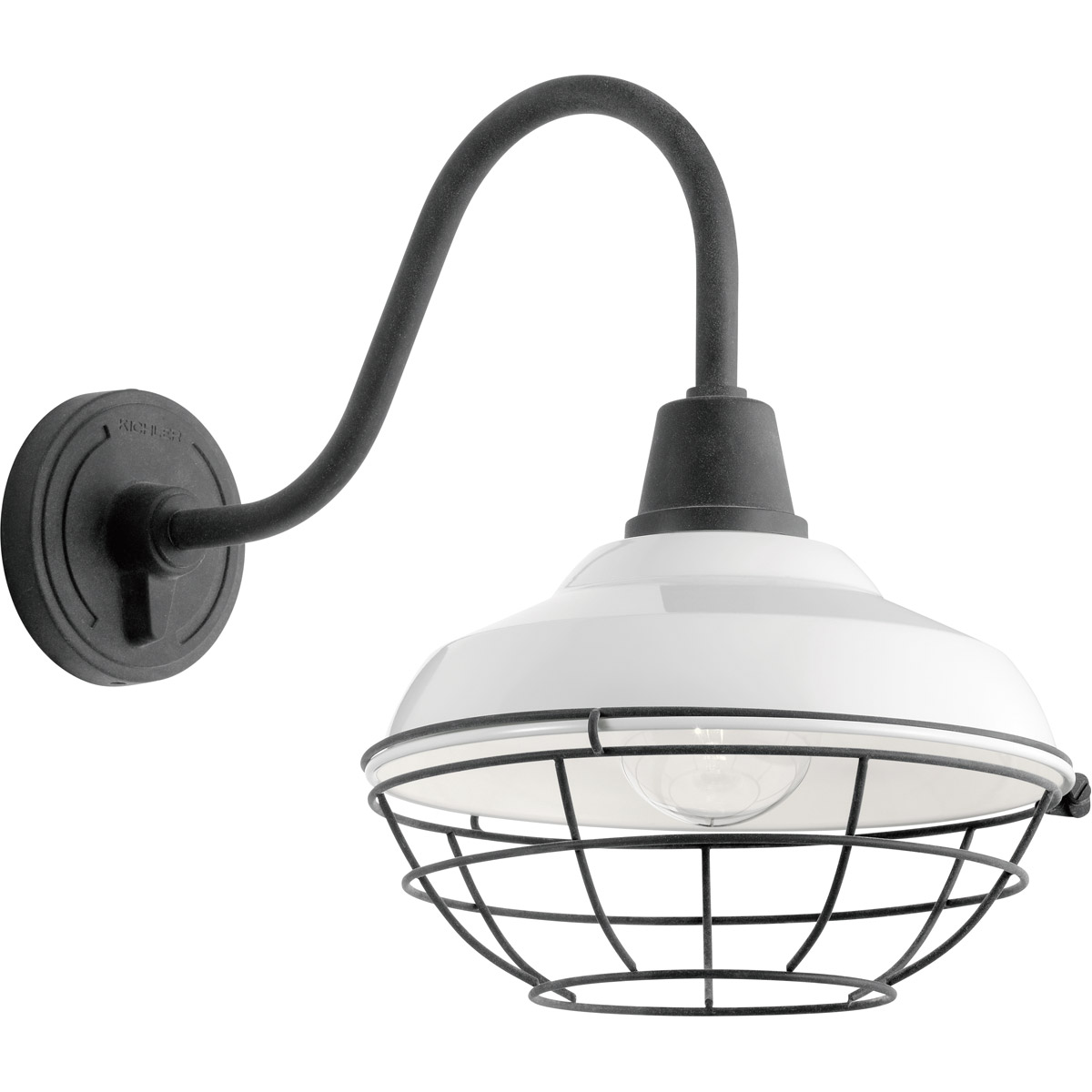 Details about kichler lighting 49990wh pier 1 light 16 inch white outdoor wall light x large