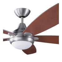 Kendal Lighting AC14652-SN Espirit 52 inch Satin Nickel with Teak / Walnut Blades Ceiling Fan