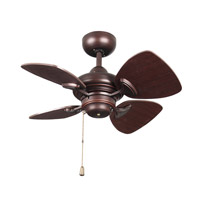Kendal Lighting AC16324-CBRZ Aires 24 inch Copper Bronze Ceiling Fan