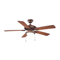 Kendal Lighting AC18152-OBB Builders Choice 52 inch Oil Brushed Bronze with Elmwood / Oil Brushed Bronze Blades Ceiling Fan