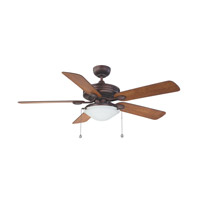 Kendal Lighting AC18552-OBB Builders Choice 52 inch Oil Brushed Bronze with Elmwood / Oil Brushed Bronze Blades Ceiling Fan