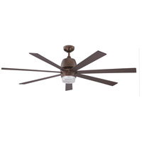 Kendal Lighting AC20760-ARB Sixty-seven 60 inch Architectural Bronze Ceiling Fan