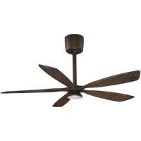 Kendal Lighting AC21454-ARB/DM Phantom 54 inch Architectural Bronze with Dark Maple Blades Ceiling Fan