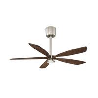 Kendal Lighting AC21454-SN/DM Phantom 54 inch Satin Nickel with Dark Maple Blades Ceiling Fan