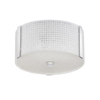 Kendal Lighting PF58-3L12-CH Glacier 3 Light 12 inch Chrome Convertible Ceiling Light