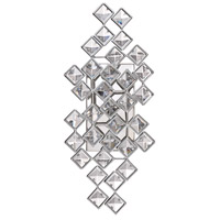 Milano 3 Light 8 inch Chrome Wall Sconce Wall Light