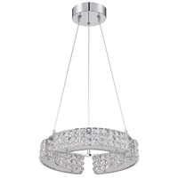 Kendal Lighting PF64-6L16-CH Carina 6 Light 16 inch Chrome Pendant Ceiling Light