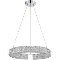Kendal Lighting PF64-9L23-CH Carina 9 Light 23 inch Chrome Pendant Ceiling Light