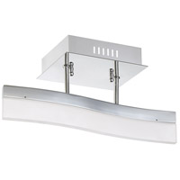 Kendal Lighting PF7715SF-CH Cerv LED 15 inch Chrome Semi Flush Mount Ceiling Light