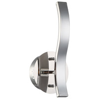 Wave LED 6 inch Chrome Wall Sconce Wall Light