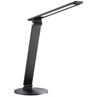 Kendal Lighting PTL5002-BLK Jexx 16 inch 8 watt Black Desk Lamp Portable Light