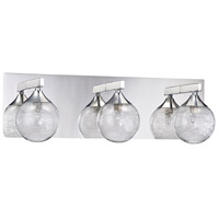 Kendal Lighting VF4100-3L-CH Fybra 3 Light 20 inch Chrome Vanity Light Wall Light