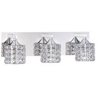 Kendal Lighting VF7100-3L-CH Lustra 3 Light 20 inch Chrome Vanity Light Wall Light