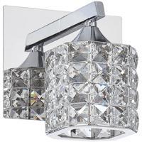 Kendal Lighting VF7200-1L-CH Shimera 1 Light 6 inch Chrome Vanity Light Wall Light