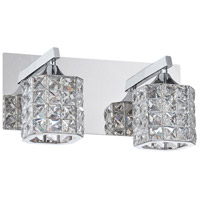 Chrome Shimera Bathroom Vanity Lights