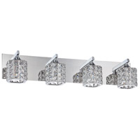 Kendal Lighting VF7200-4L-CH Shimera 4 Light 28 inch Chrome Vanity Light Wall Light