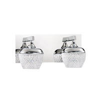 Chrome Arika Bathroom Vanity Lights