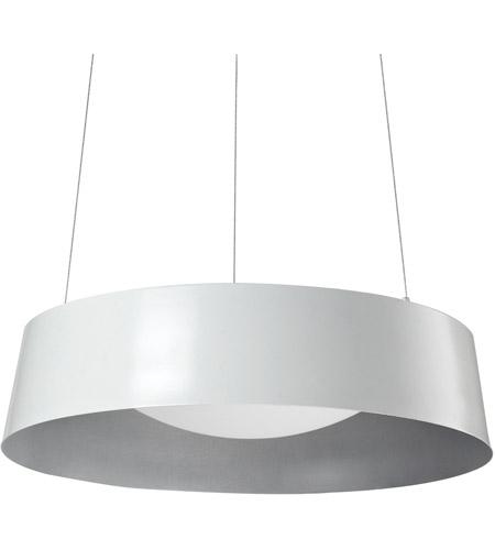 Kuzco lighting 401207wh led signature led 17 inch white pendant ceiling light photo