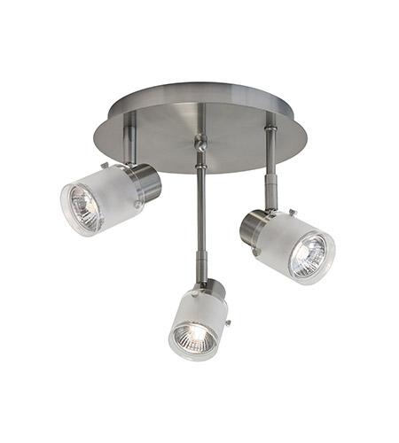 Kuzco Lighting 81353bn Signature 3 Light 120v Brushed Nickel Track Ceiling