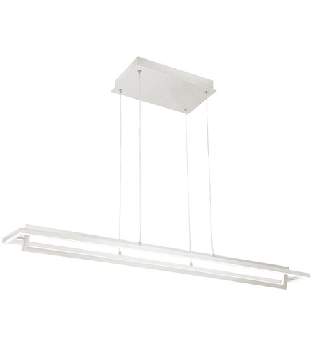 Kuzco Lighting LP16140-WH Mondrian LED 40 inch White Linear Pendant Ceiling Light photo thumbnail