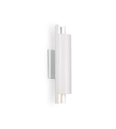 best service c650e 1b77e Kuzco Lighting WS41216-WH Dela LED 5 inch White Wall Sconce Wall Light