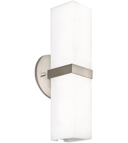 newest 9e61b 3ba43 Kuzco Lighting WS8815-BN Bratto LED 5 inch Brushed Nickel Wall Sconce Wall  Light