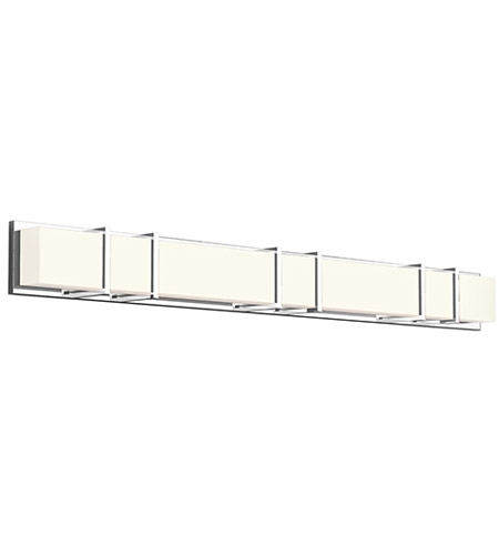 Kuzco Lighting Vl61650 Ch Alberni Led 50 Inch Chrome Vanity Light Wall Light