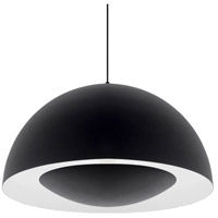 Kuzco Lighting 401143BK-LED Cupo LED 26 inch Black Pendant Ceiling Light