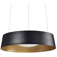 Sampson LED 17 inch Black Pendant Ceiling Light