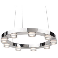 Kuzco Lighting 401441CH-LED Belle LED 20 inch Chrome Pendant Ceiling Light