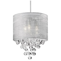 Kuzco Lighting 42153 Signature 3 Light 15 inch Chrome Pendant Ceiling Light