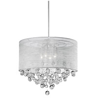 Signature 4 Light 21 inch Chrome Pendant Ceiling Light