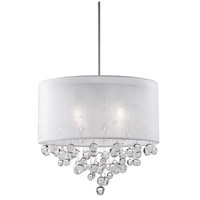 Kuzco Lighting 42154W Signature 4 Light 21 inch Chrome Pendant Ceiling Light